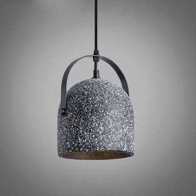 RJJBYY Lámpara de lámpara de araña de hormigón con Cemento Sombra de Techo Accesorio Retro Industrial Estilo Cemento Araña