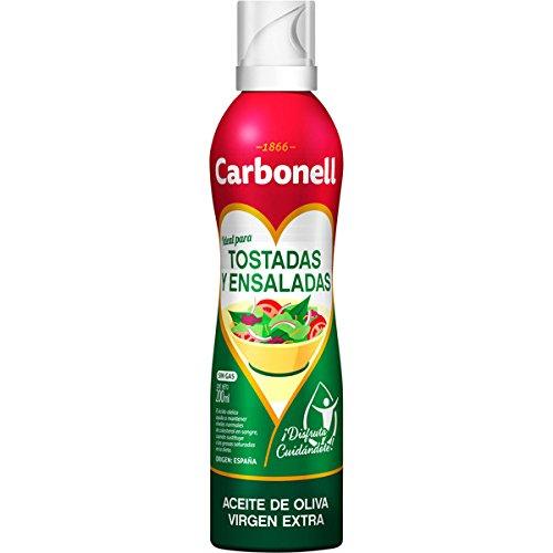 Aceite de oliva virgen extra carbonell ensaladas y tostadas 0,2l en spray