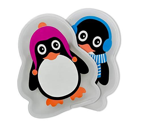 Helmecke & Hoffmann 2er-Set Handwärmer | Design: Pinguin | Taschenwärmer | Taschenofen | Fingerwärmer | Wärmekissen