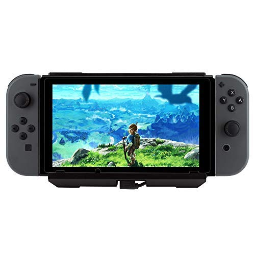Jevogh Maleta de Carga para Nintendo Switch, JV16 8000mAh Cargador de Alta Capacidad Portátil con Soporte Ajustable para Nintendo Switch Console (Producto de terceros) Negro