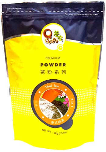 Qbubble Tea Powder Thai, 2.2 Pound