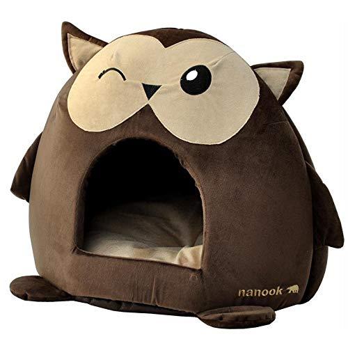 """nanook """"Sweety"""" Katzenhöhle/Hundehöhle mit extra dickem Kissen - rutschfeste Höhle für Katzen und kleine Hunde"""