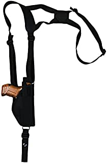 NEW Barsony Vertical Shoulder Holster w// Dbl Mag Pouch Ruger Compact 9mm 40 45