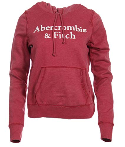 Abercrombie & Fitch Sudadera para mujer. rojo L