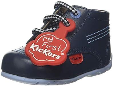 Kickers Kick Hi, Botas Unisex niños, Azul (Blue BLU), 16 EU