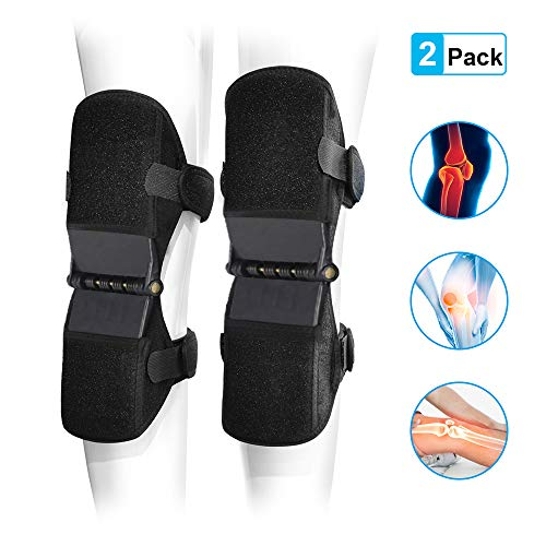 Power Knee Braces Joint Support, 2020 Updated Powerknee Stabilizer Pads, Protective Gear Booster...