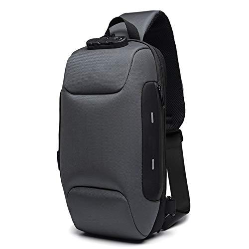 Daxerg Anti-diefstal rugzak met 3-cijferige waterdichte schoudertas voor reizen mobiele telefoon
