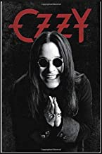 Ozzy Osbourne Weekly  Planner Lined Notebook Journal, 100 Pages (6 x 9 Inches) Blank Ruled Writing Journal With Inspirational Quotes, Perfect Diary ... Ideas .: Best Gift For Of Ozzy Osbourne Fan
