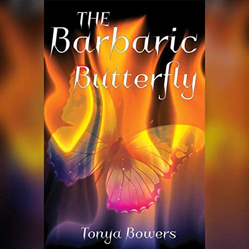 The Barbaric Butterfly audiobook cover art