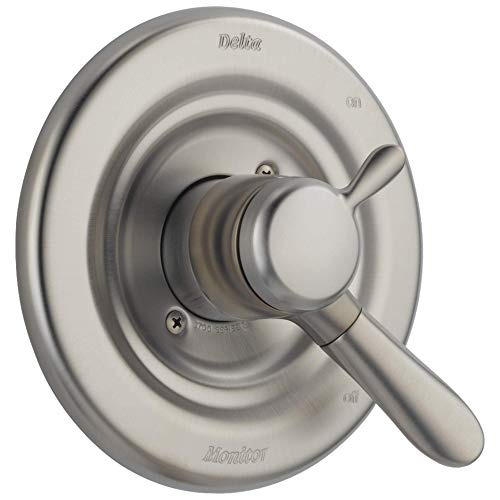DELTA Lahara 17 Series Dual-Function Shower Handle Valve Trim Kit, Stainless T17038-SS (Valve Not Included)