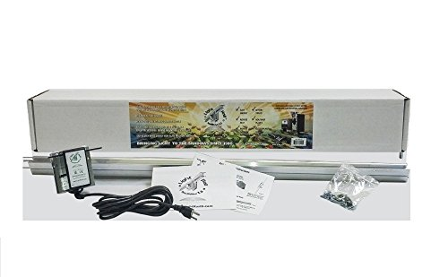 Light Rail 3.5 IntelliDrive Kit Motor w/ Rail, Robotic Grow Light Mover Genuine Solidly Made in USA