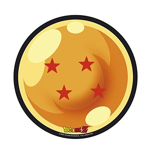 MOUSEPAD - DRAGON BALL - SFERA DEL DRAGO 4 STELLE Tappetino Per Mouse Sagomato Rotondo Diam. 21cm Abystyle, multicolore