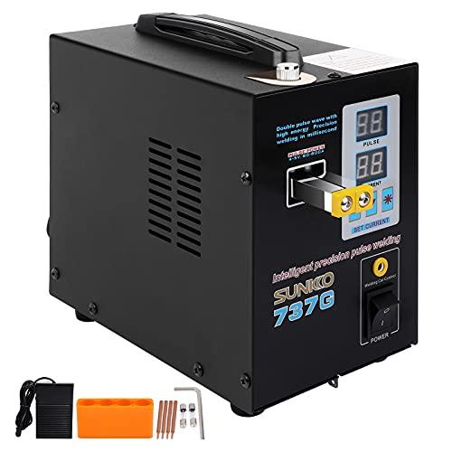 Handhold Spot Welder 1.5KW 737G Spot Welder Solder Welding Machine For 18650 Battery 110V Welding Equipment