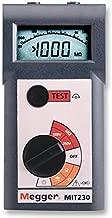 Megger MIT230-EN Insulation Tester, 1000 Megaohms Resistance, 250V, 500V, 1000V Test Voltage by Megger