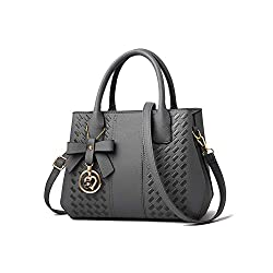 Túi xách nữ Purses and Handbags for Women Fashion Ladies PU Leather Top Handle Satchel Shoulder Tote Bags (Amaz