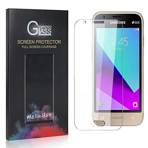 MelinHot Displayschutzfolie für Galaxy J1 Mini Prime, 9H Anti Kratzen Panzerglasfolie, 99% Transparente Schutzfilm aus Gehärtetem Glas für Samsung Galaxy J1 Mini Prime, 3 Stück