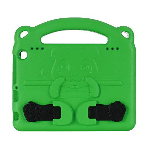 GHC PAD Cases & Covers For Amazon Fire HD 8 Plus, Kids Shockproof EVA Tablet Cover Child Case For Amazon kindle Fire HD8 2020 (Color : Green)