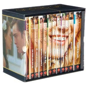 Gossip Girl the Complete Collection 12 Books Set Pack RRP : £ 186.00 (Gossip girl, You Know you love me, All I want is everything, Because I?m worth it, I like it like that, You?re the one that I want, Nobody does it better, Nothing can keep us.....)