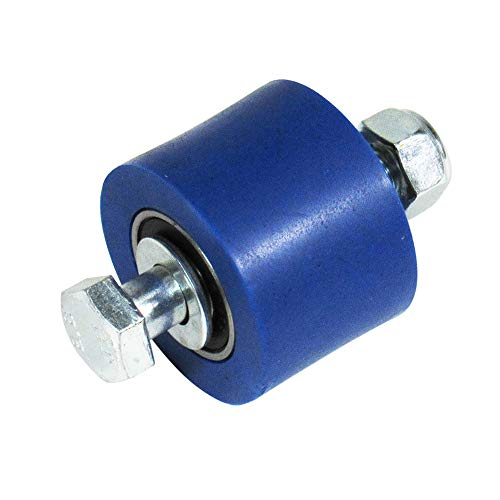 Outlaw Racing OR3079BU Chain Roller Guide Fits Upper and Lower Pit Bike/Dirt Bike -Chain 34X24mm - Compatible with Yamaha YZ250F YZ125 YZ490 Suzuki RM80 RM85 2012 (Blue)