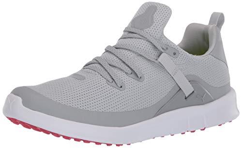 Puma Golf Women's Laguna Fusion Sport Golf Shoe, High rise-puma White, 10.5 M US