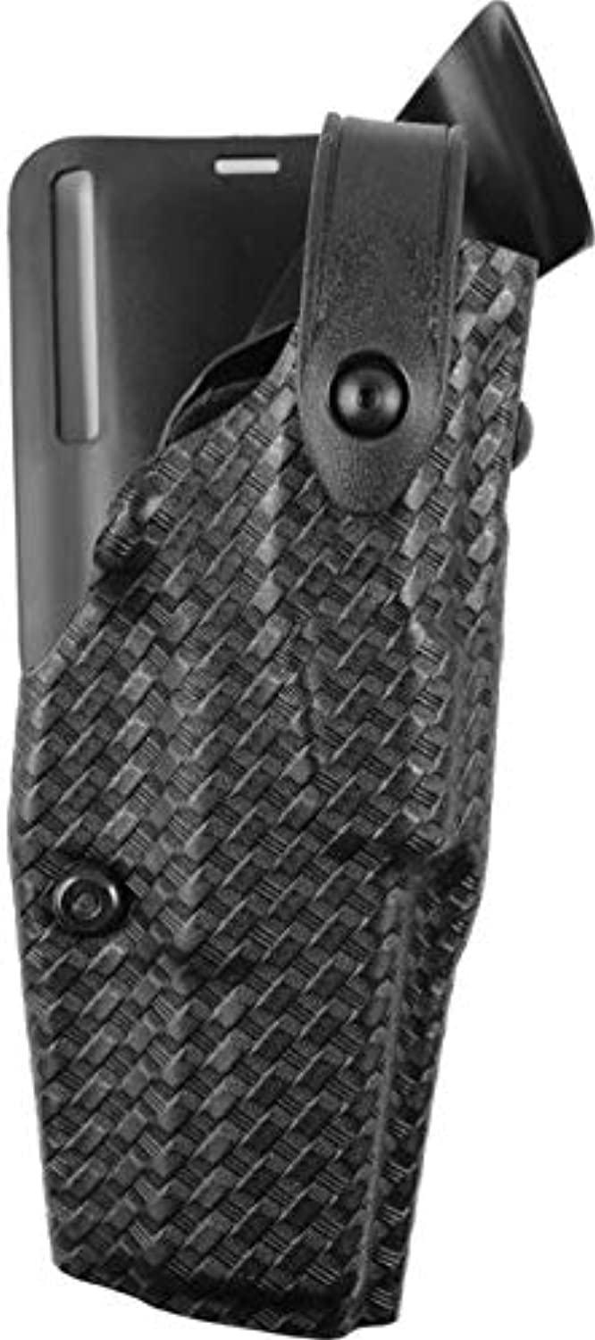 Safariland 6365 Level 3 Retention ALS Duty Low Ride Holster STX Black Basket Weave Right Hand Glock 17 with M3