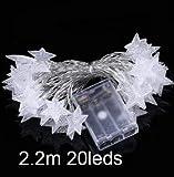 GHC LED Lámparas 20cm / 30cm / 50cm 8 Tubo de lluvia ligera de la secuencia Lluvia de meteoritos de la decoración del árbol, luz del partido de boda al aire libre de Navidad del jardín de cuerda con P