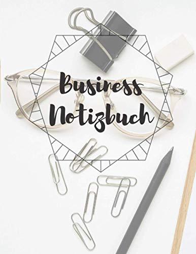 Business Notizbuch für geschäftliche und private Notizen: Business Notizbuch | US Letter Format A4 | liniertes Notizbuch mit 200 Seiten | ... für Besprechungen, Schulungen und mehr