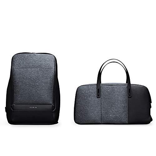 KORIN FlexPack Go FlexPack Pro Multifunktionale Flexibilität Anti-Diebstahl Smart Duffle & Rucksack Laptop Tasche mit 2.0 USB-Ladeanschluss Große Kapazität Wasserdicht TSA-Reisefreundlich