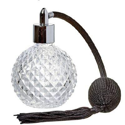 Spray atomizador, botella de cristal con aroma a esencias Bitters líquidos, pera, pulverizador, 10 cl, diseño de diamantes