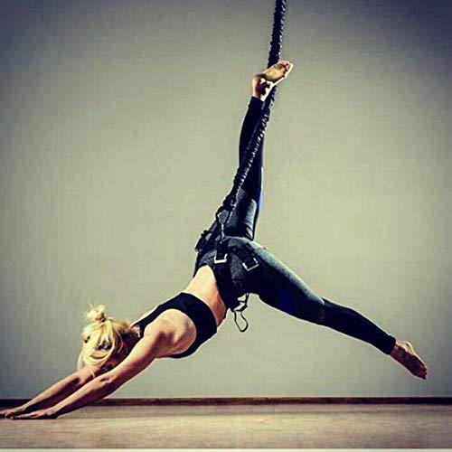YLJYJ Arte Llegada Cuerda elástica Entrenamiento Fitness Aéreo Antigravedad Banda de Resistencia de Yoga Equipo de Gimnasio en casa