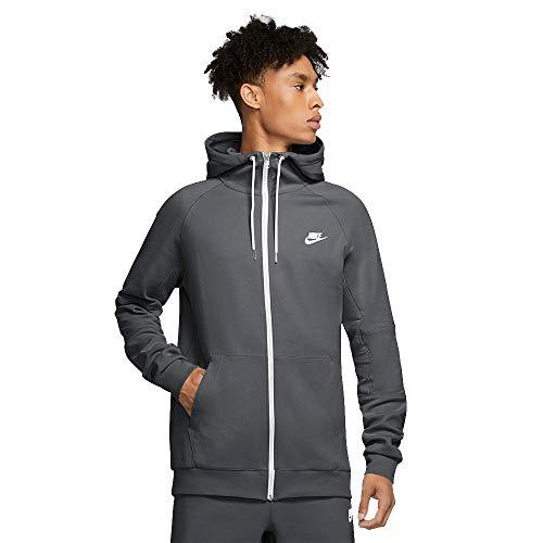 Nike Sportswear Giacchetto con Cappuccio Uomo Grigio CU4455068 Grigio XS