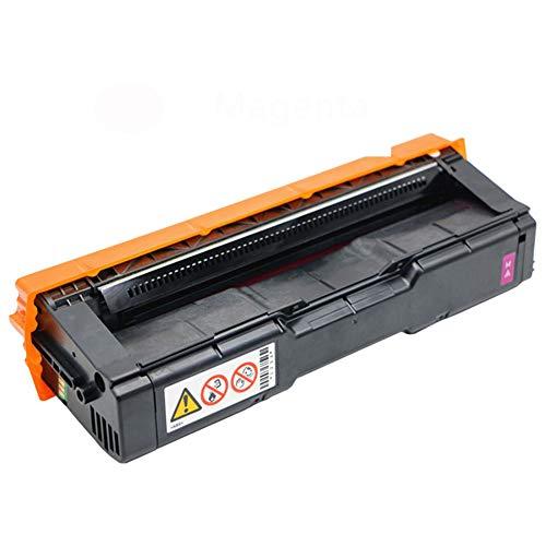 Cartucho de tóner compatible para Ricoh SP C250, compatible con Ricoh SP C250 C250DN C252DN C252SF SP C261DNW C261SFNW-Magenta