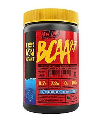 Mutant BCAA 9.7 Blue Raspberry Powder, 348 g