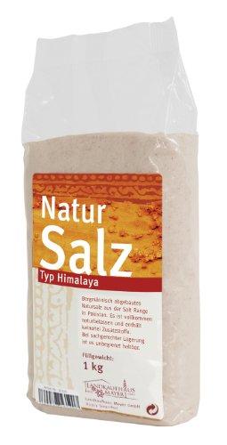 Landkaufhaus Mayer Natursalz Typ Himalaya (Salt Range Pakistan) fein, 1er Pack (1 x 1 kg)