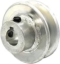Phoenix V-Belt Pulley - 5/8in. Bore, 2 1/2in. Outside Dia. Model Number 125058