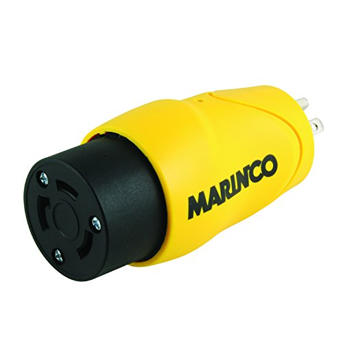 Marinco / Park Power S15-30 Adapter 15A male Straight Blade