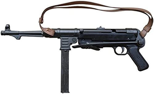 Denix Replica Deutsche MP 40 Schmeisser mit Bügel und Gurt Metall 9mm 2.Wk.