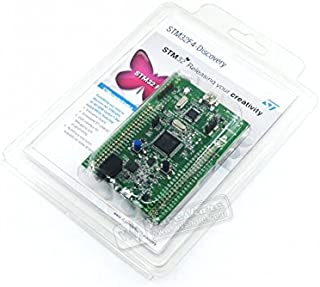 Venel Electronic Component, STM32F4Discovery/Stm32F407G-Disc1, STM32F4 Discovery Kit, With STM32F407 MCU, Discover The STM32F4 High-Performance Features and to Develop Your Applications Easily