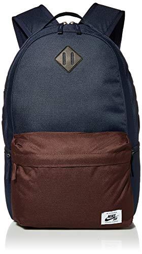 Nike SB Icon Backpack (Obsidian/Mahogany/White)