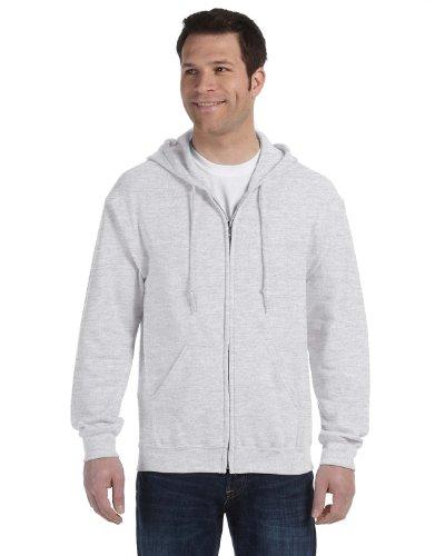 Gildan Gildan 18600 Heavy Blend Erwachsene Full Zip Hoodie Hooded Sweatshirt Ash L
