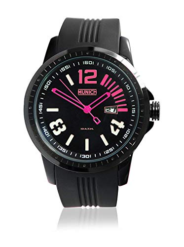 Munich Reloj Analógico para Unisex Adultos de Cuarzo con Correa en Silicona MU+103.4A
