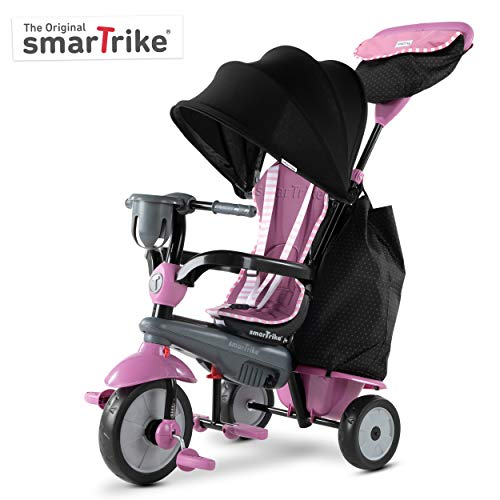 smarTrike Swirl Toddler Tricycle for 1,2,3 Year Olds - 4 in 1...