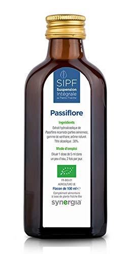 Passiflore Bio Français Solution Buvable DE Plantes Fraîches - Calme et Sérénité - Origine France Certifiée Certifié AB