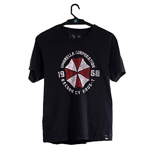 Camiseta Umbrella 1968, Resident Evil, Masculino, Preto, PP