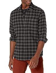 Amazon Essentials Chemise à manches longues en flanelle pour homme: Amazon.ca: Vêtements et accessoires