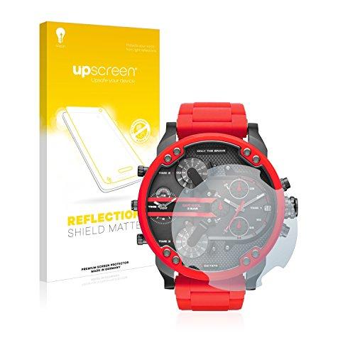 upscreen Entspiegelungs-Schutzfolie kompatibel mit Diesel DZ7370 – Anti-Reflex Displayschutz-Folie Matt