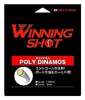 WINNING SHOT (ウィニングショット) ポリジナモス(POLY DINAMOS) 単張ガット 硬式テニス ストリング [M便 1/2] (ゲージ:1.25mm)