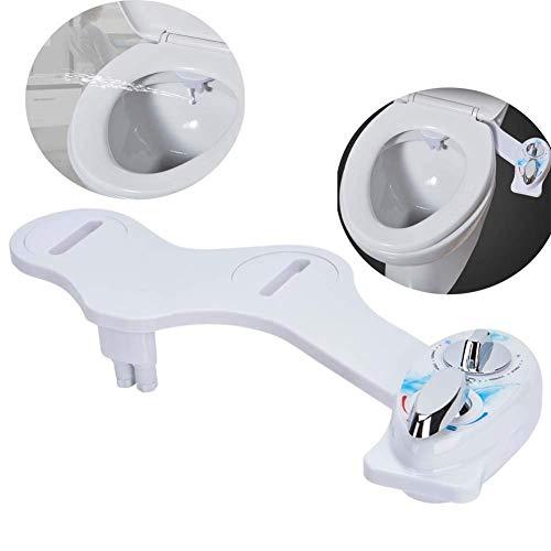 SEESEE.U Bidet-Toilettensitz, verstellbar Frischwasserspray Nicht elektrisch Mechanischer Bidet-Toilettensitzaufsatz   Einfache Installation   WC-Anlage