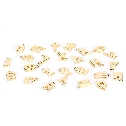 Letras Ornamento Inglés Letras Colgantes Accesorios de Joyería Personalizados para la Fabricación