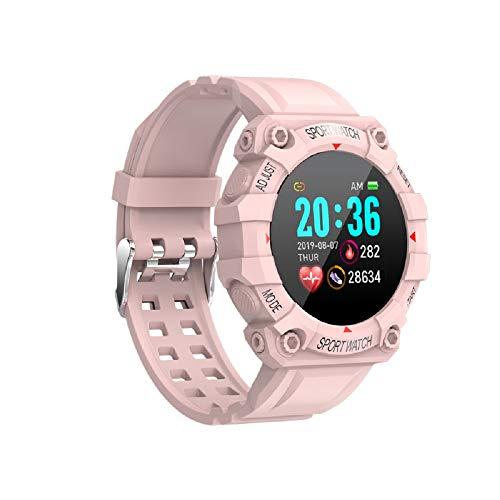 DYHF FD68 Smart Watch Fitness Tracker con Monitor de frecuencia cardíaca, Monitor de Actividad con medidor de oxígeno en Sangre, Monitor de presión Arterial, Reloj Deportivo Inteligente